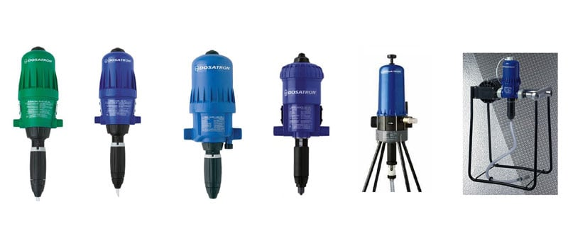 Dosatron Fertiliser Injectors