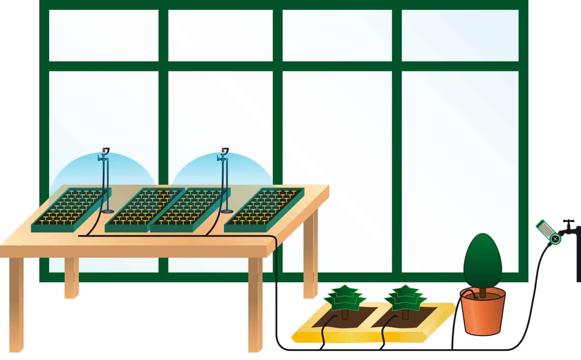 Greenhouse Misting System : Greenhouse irrigation systems sprinkler