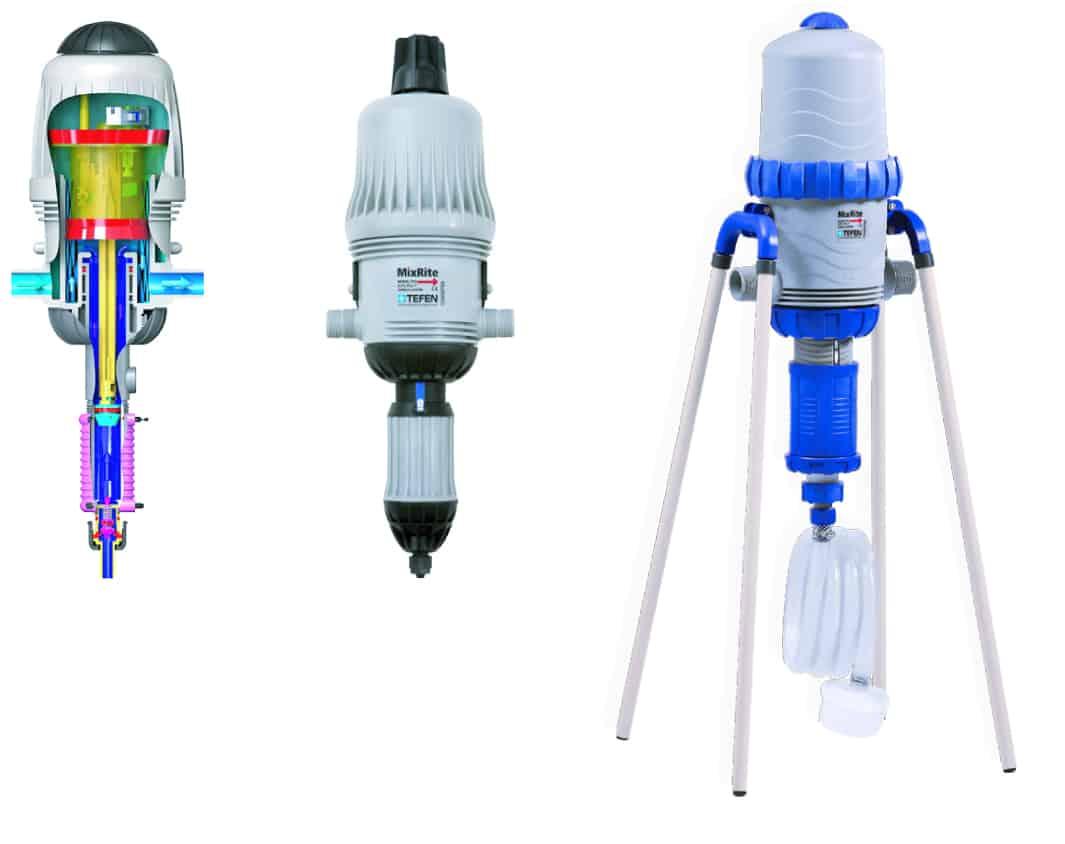 Tefen MixRite Injectors